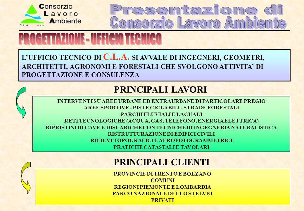 PROGETTAZIONE - UFFICIO TECNICO