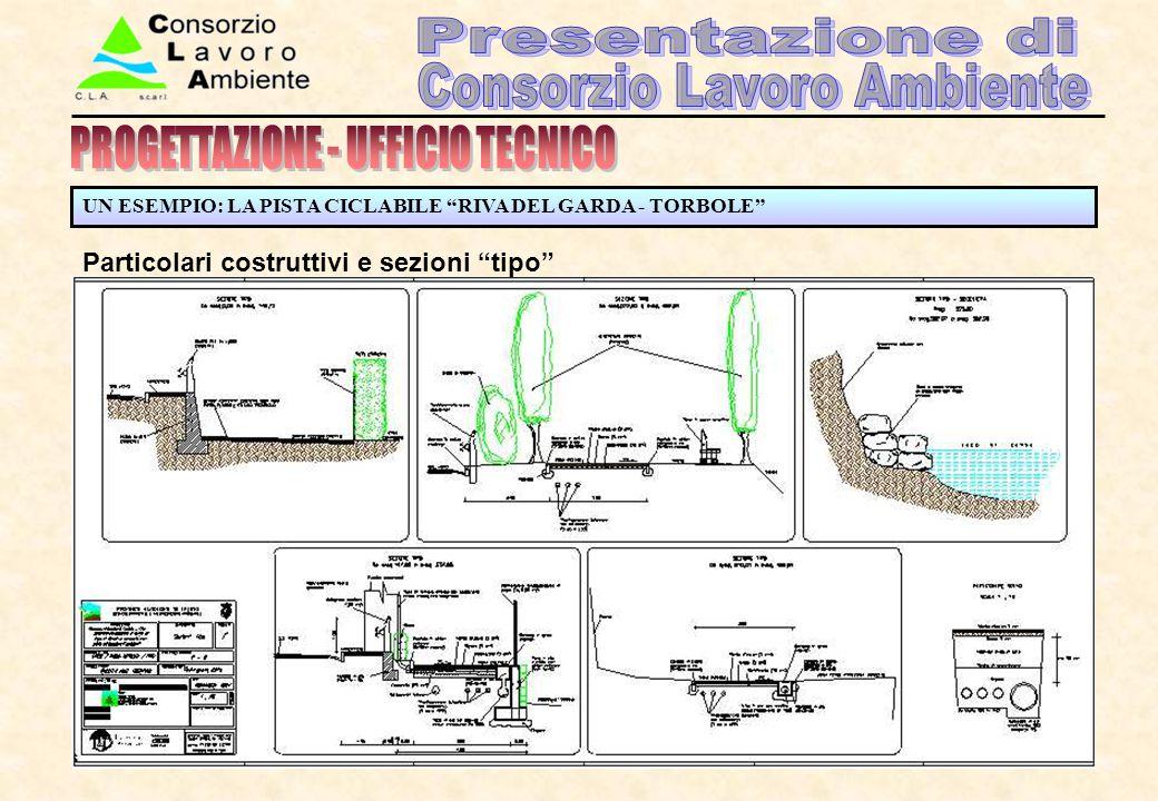 Particolari costruttivi e sezioni tipo