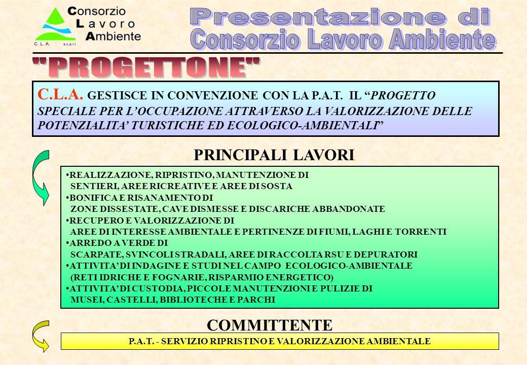 P.A.T. - SERVIZIO RIPRISTINO E VALORIZZAZIONE AMBIENTALE