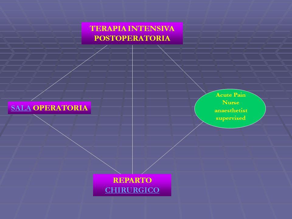 TERAPIA INTENSIVA POSTOPERATORIA REPARTO CHIRURGICO