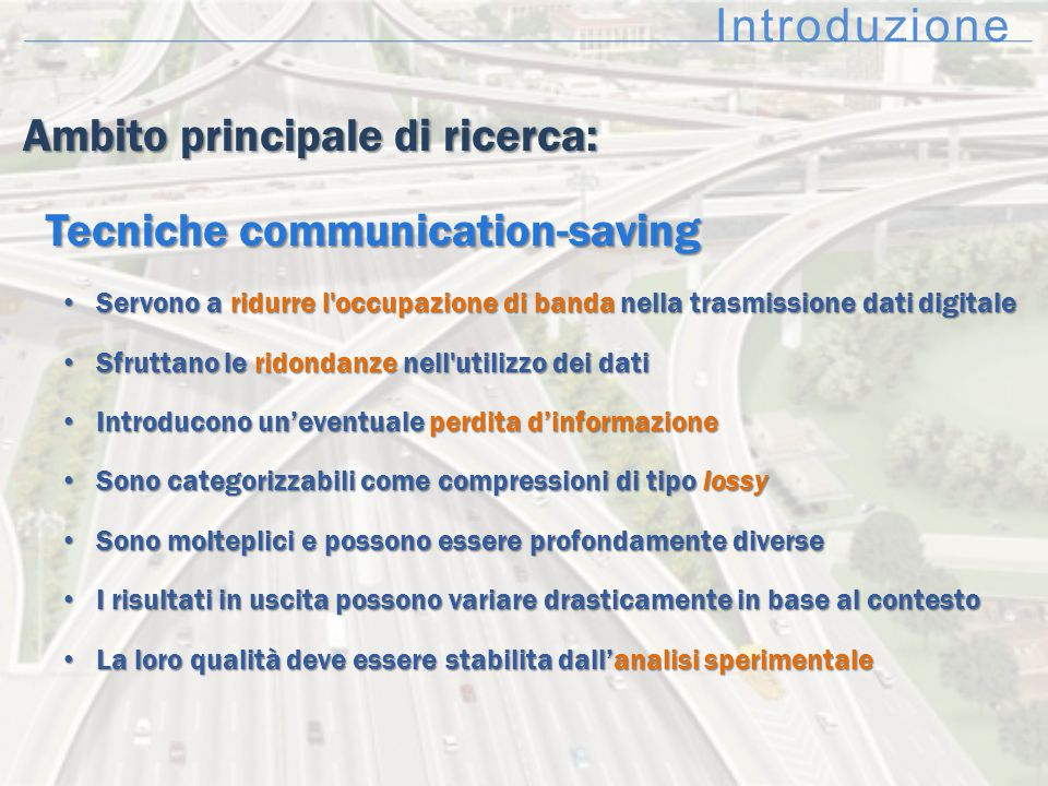 Ambito principale di ricerca: Tecniche communication-saving