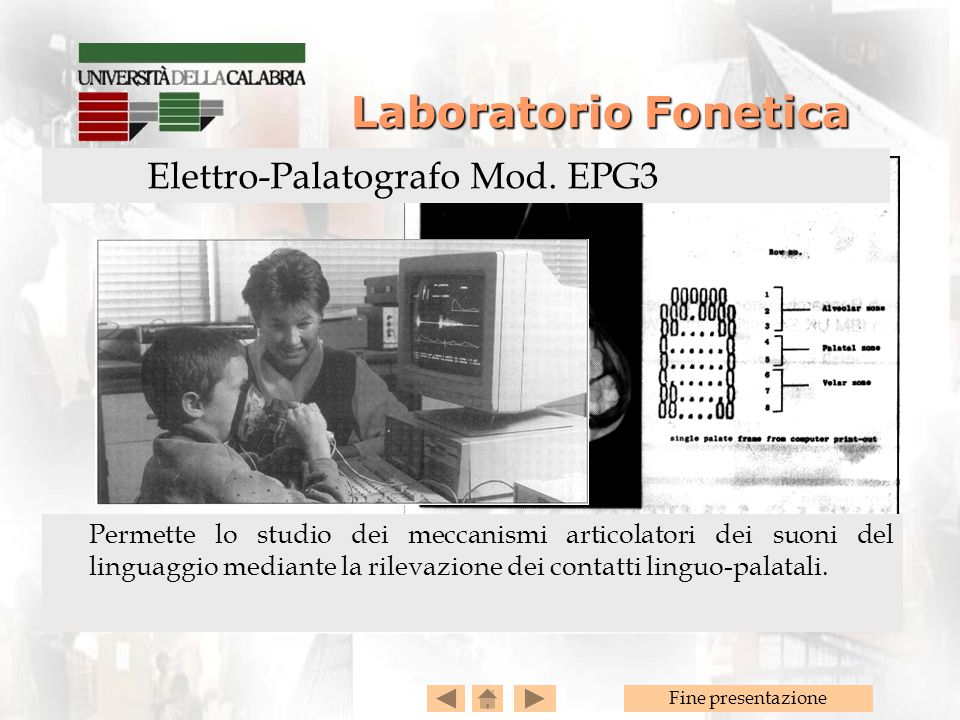 Elettro-Palatografo Mod. EPG3