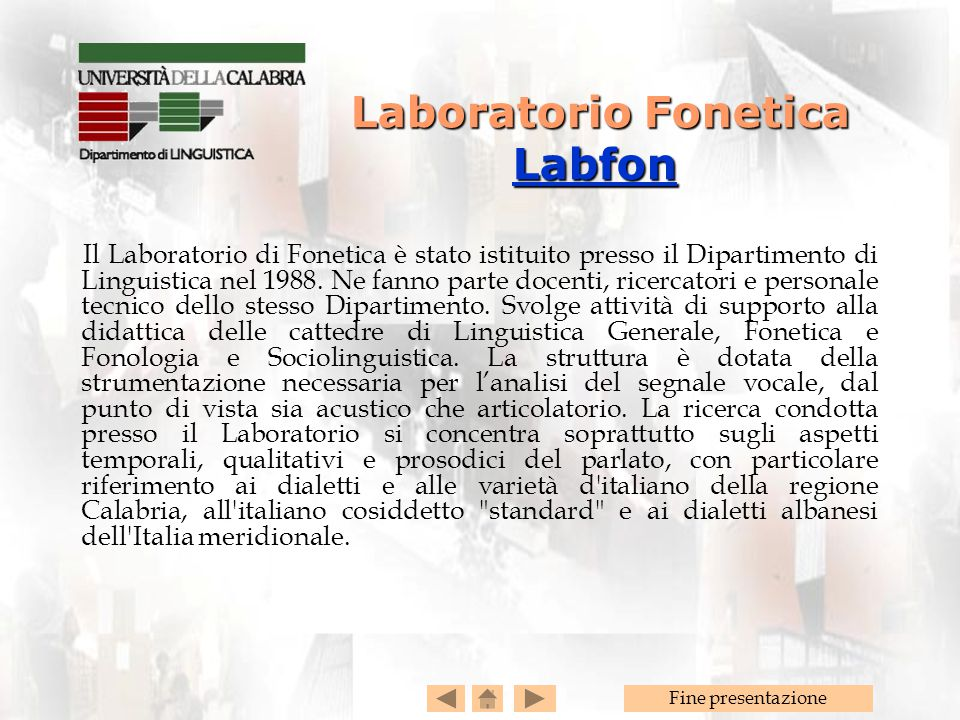 Laboratorio Fonetica Labfon