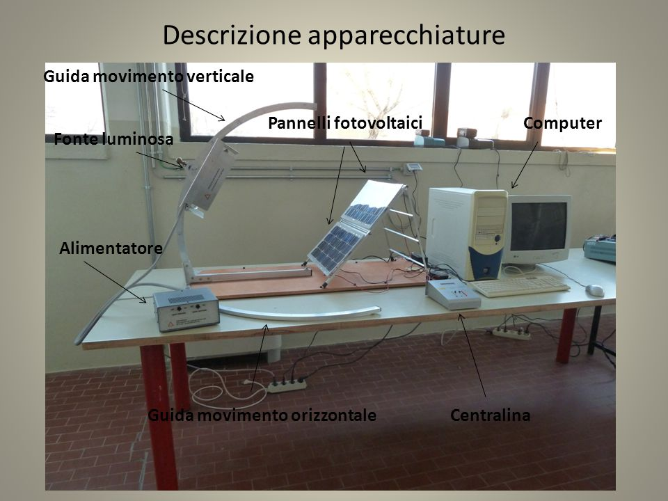 Descrizione apparecchiature