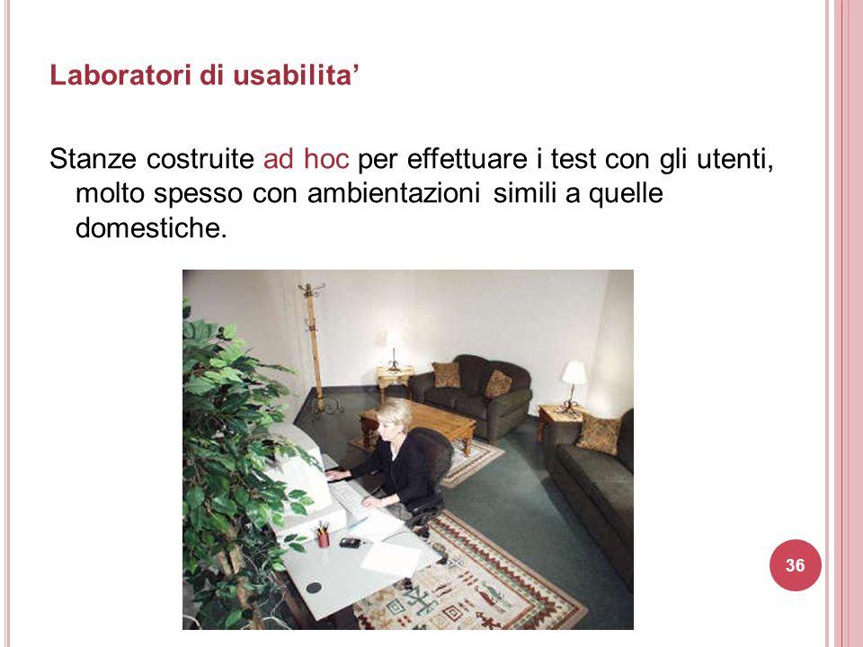 Laboratori di usabilita'