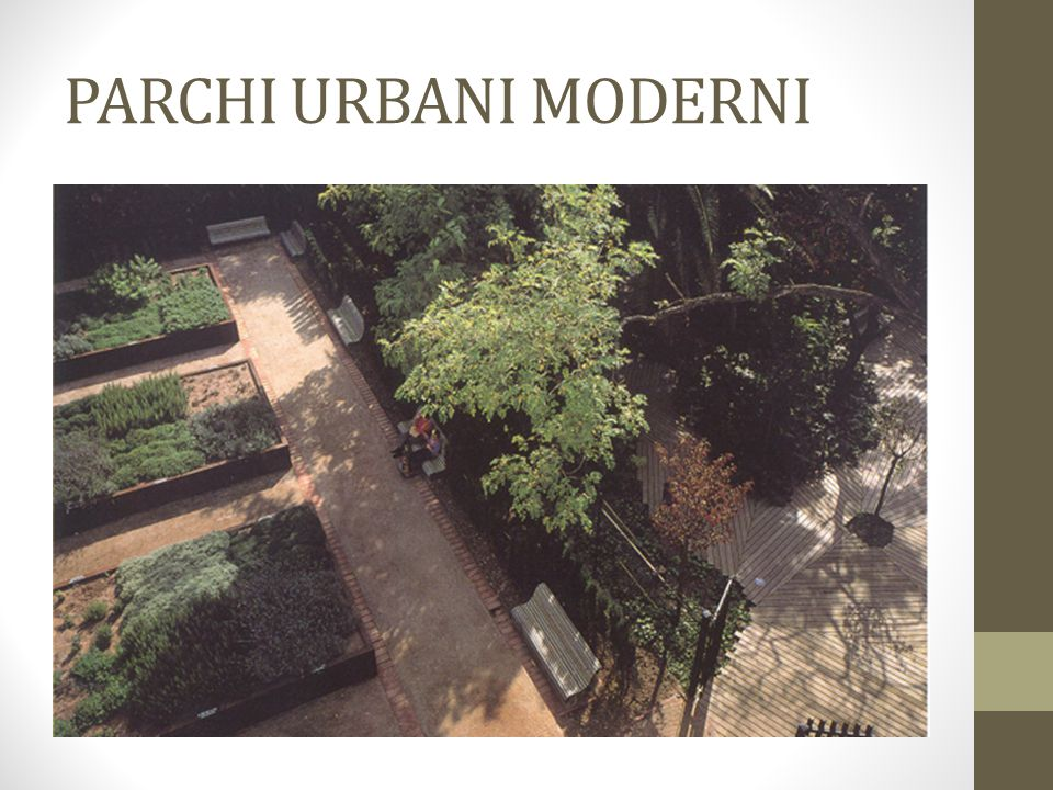 PARCHI URBANI MODERNI Park Guimerà
