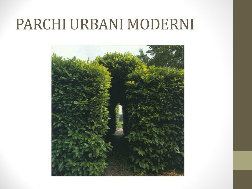 PARCHI URBANI MODERNI Shute garden
