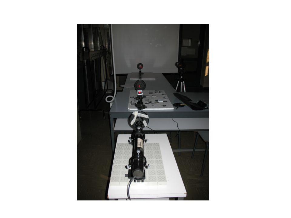 Fenditure Reticolo da 80 linee/mm --- Diffrazione Reticolo fine gauze