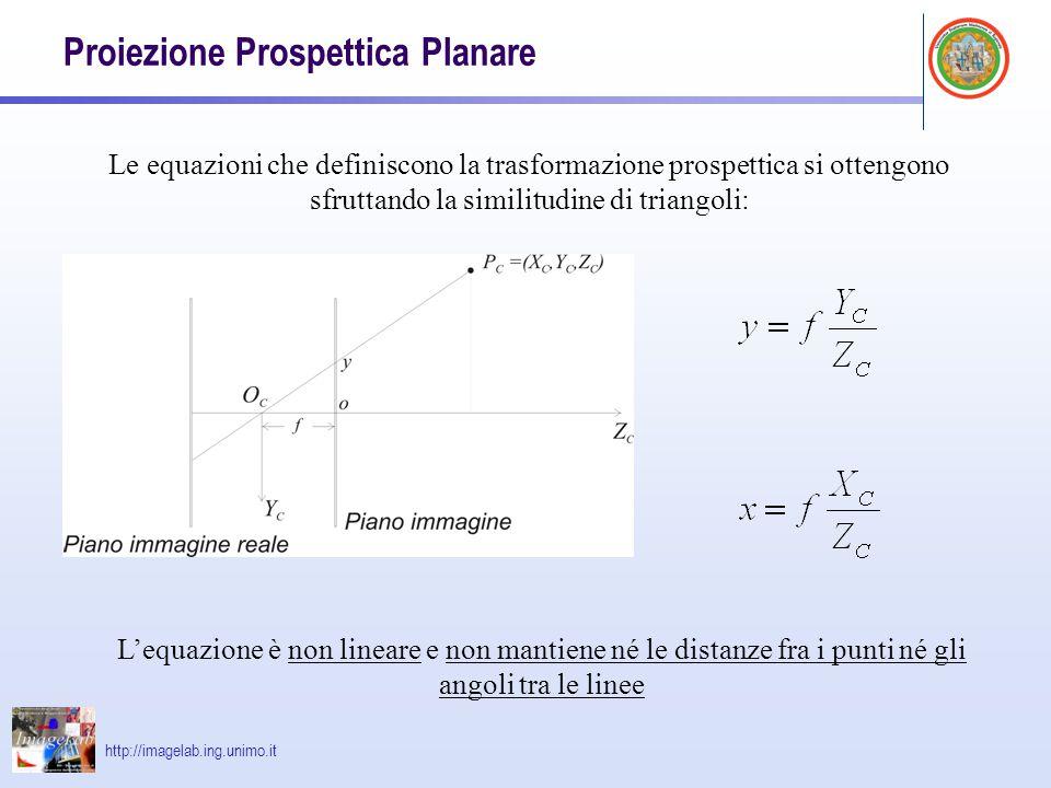 Proiezione Prospettica Planare