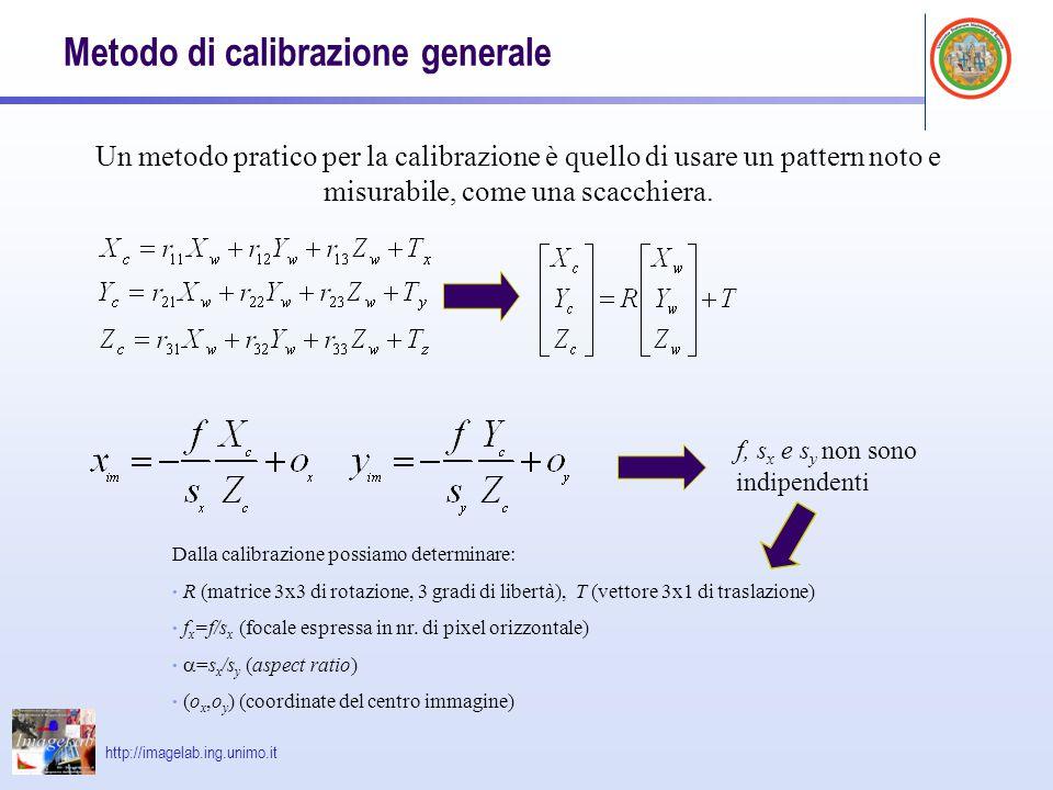 Metodo di calibrazione generale