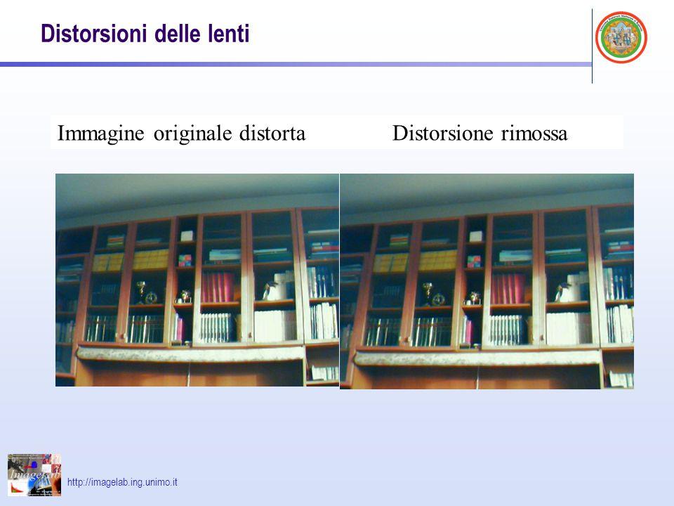 Distorsioni delle lenti