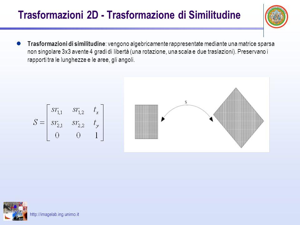 Trasformazioni 2D - Trasformazione di Similitudine