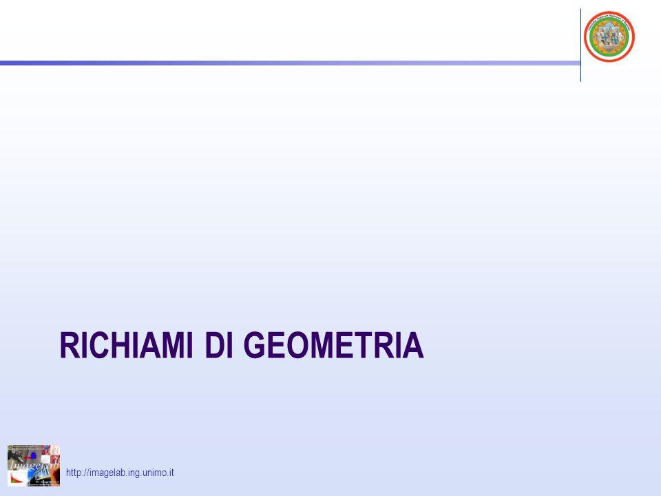 Richiami di geometria