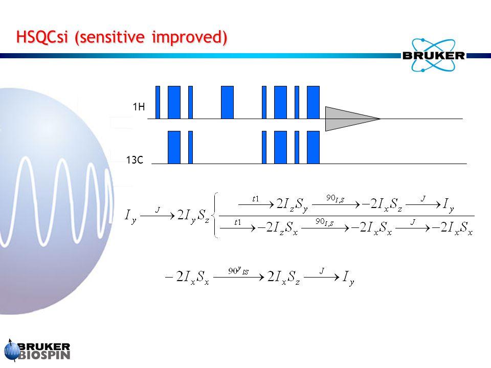 HSQCsi (sensitive improved)