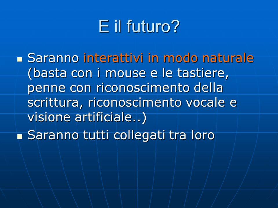 E il futuro