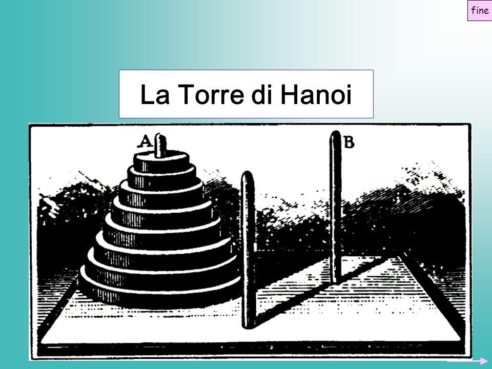 fine La Torre di Hanoi