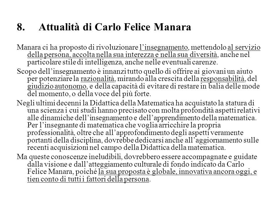 8. Attualità di Carlo Felice Manara