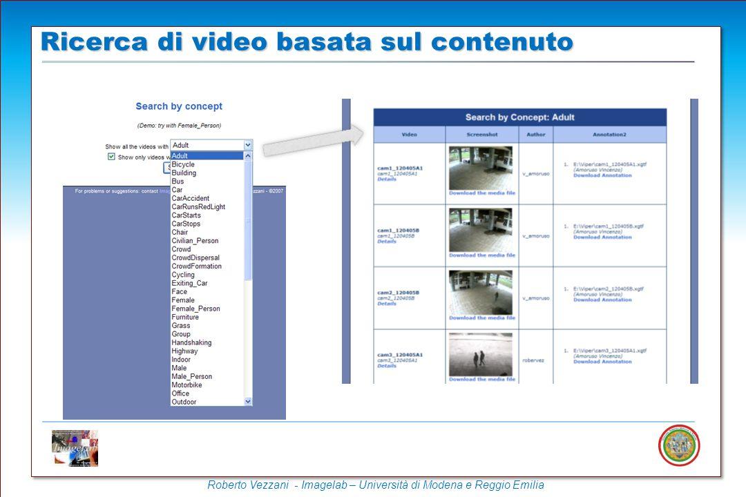 Ricerca di video basata sul contenuto