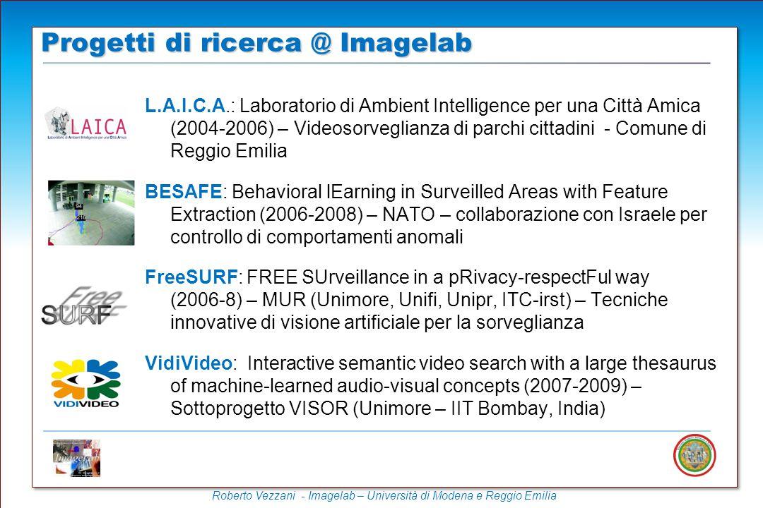 Progetti di ricerca @ Imagelab