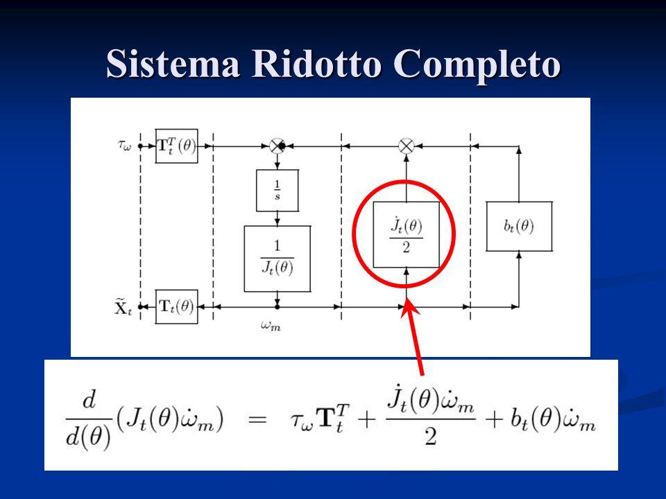 Sistema Ridotto Completo