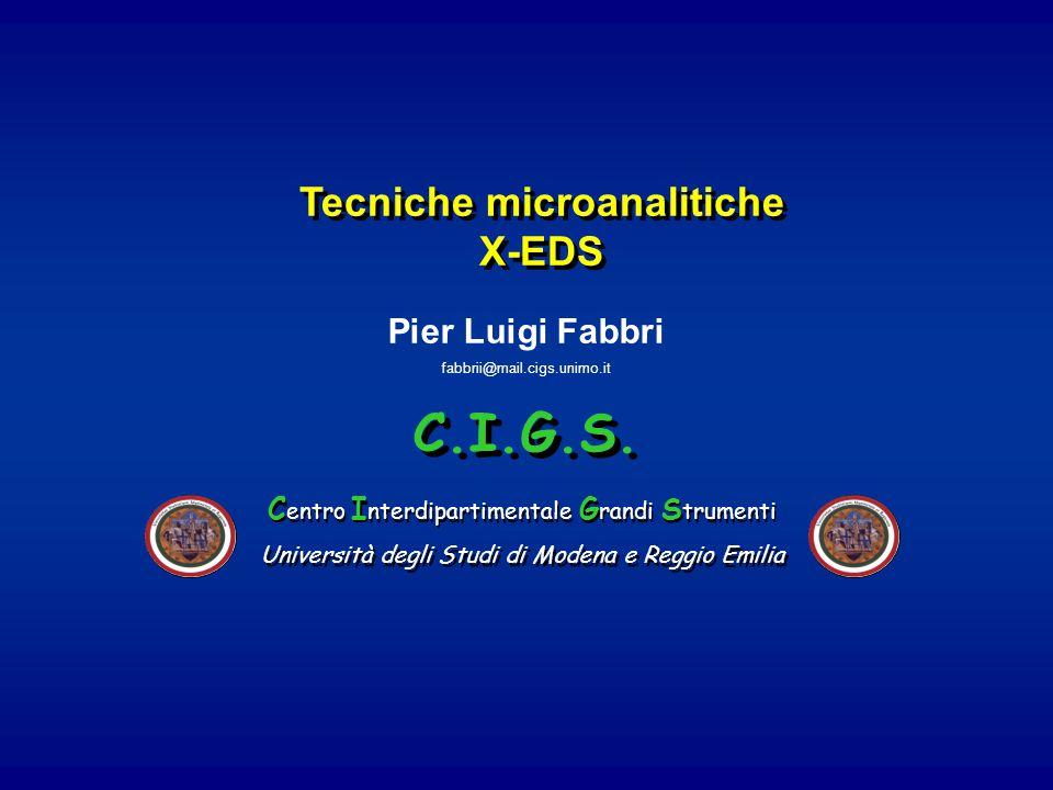 Tecniche microanalitiche