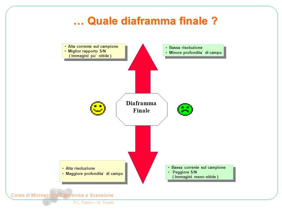 … Quale diaframma finale