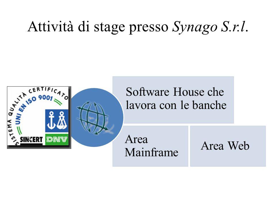 Attività di stage presso Synago S.r.l.