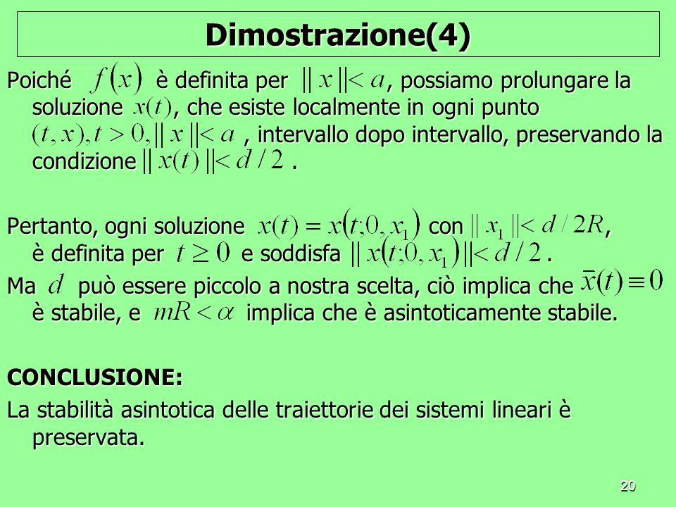 Dimostrazione(4)
