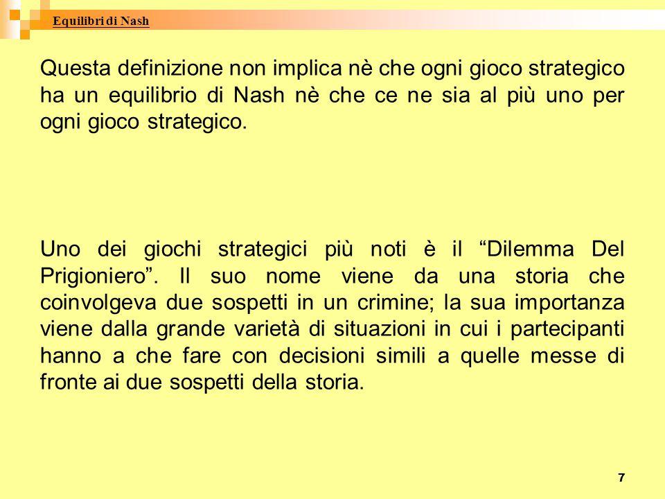Equilibri di Nash