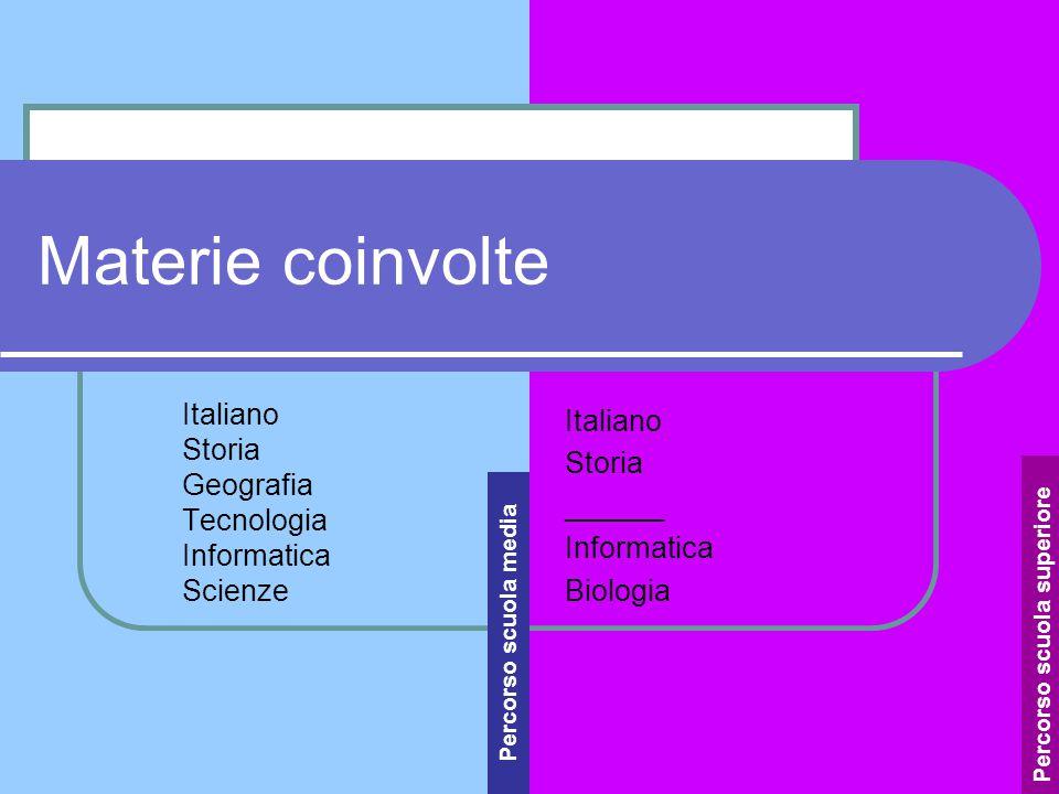 Italiano Storia Geografia Tecnologia Informatica Scienze