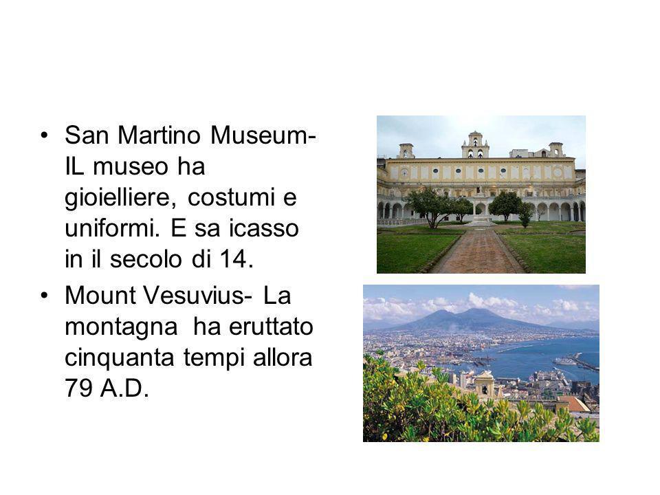 San Martino Museum- IL museo ha gioielliere, costumi e uniformi