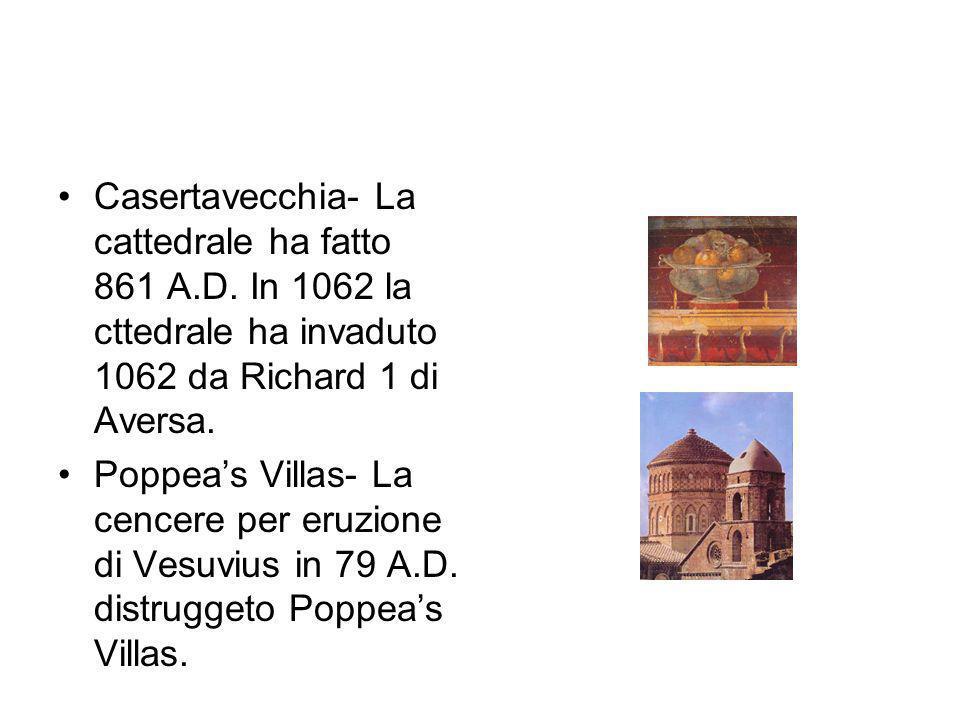 Casertavecchia- La cattedrale ha fatto 861 A. D