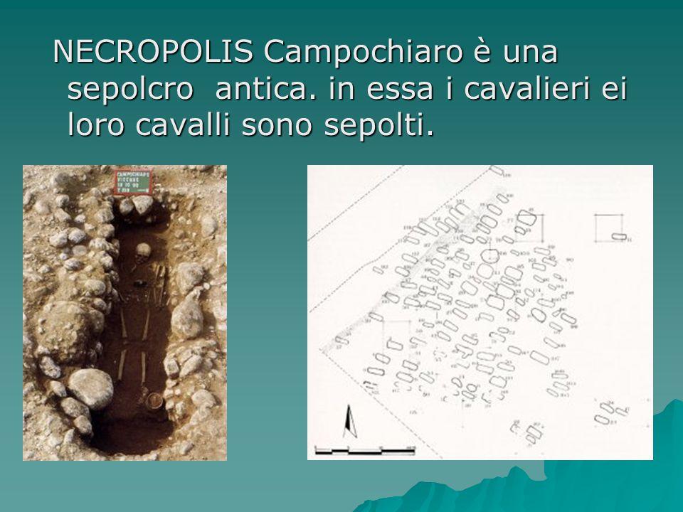 NECROPOLIS Campochiaro è una sepolcro antica
