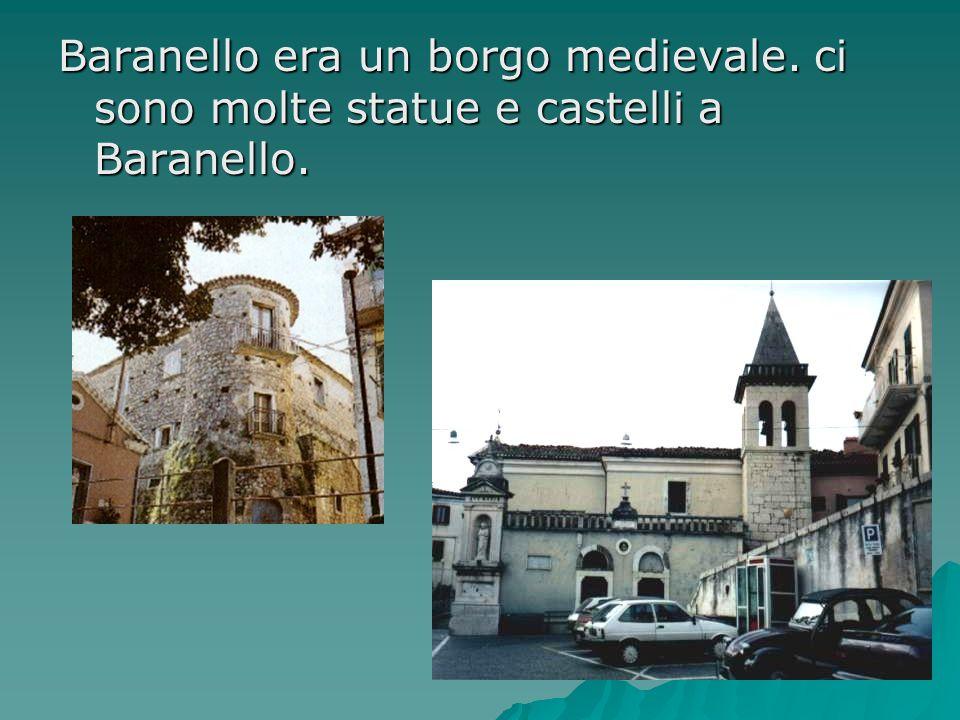 Baranello era un borgo medievale