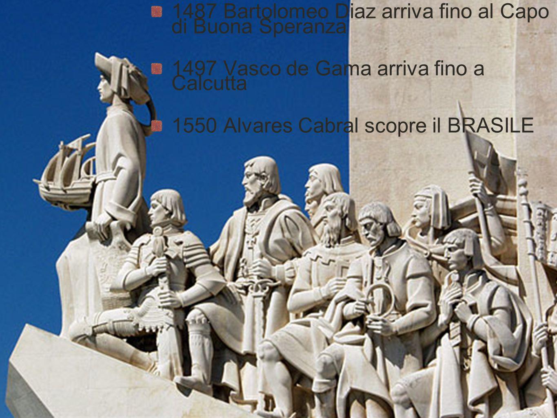 1487 Bartolomeo Diaz arriva fino al Capo di Buona Speranza