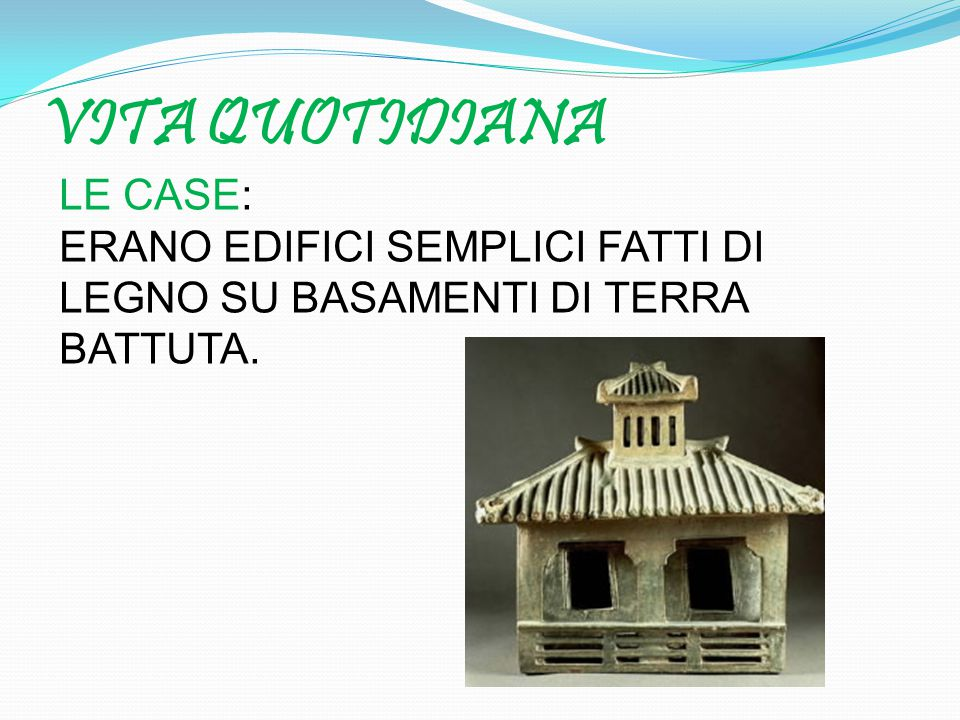 VITA QUOTIDIANA LE CASE: