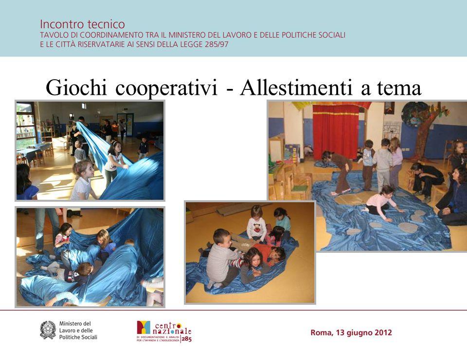 Giochi cooperativi - Allestimenti a tema