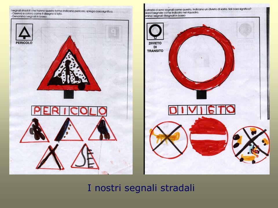 I nostri segnali stradali