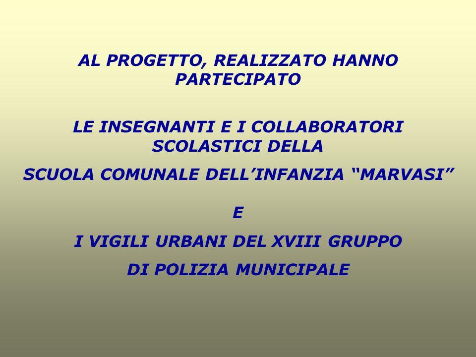 AL PROGETTO, REALIZZATO HANNO PARTECIPATO