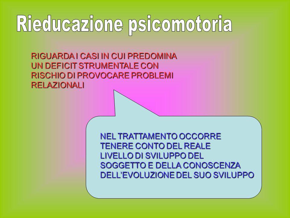 Rieducazione psicomotoria