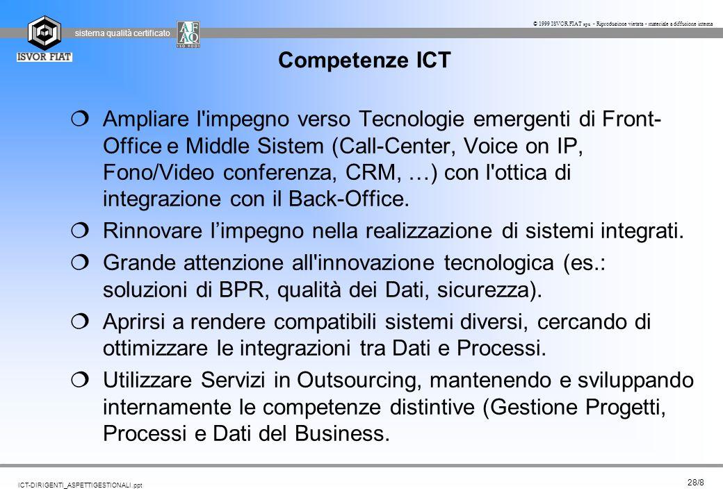 Competenze ICT