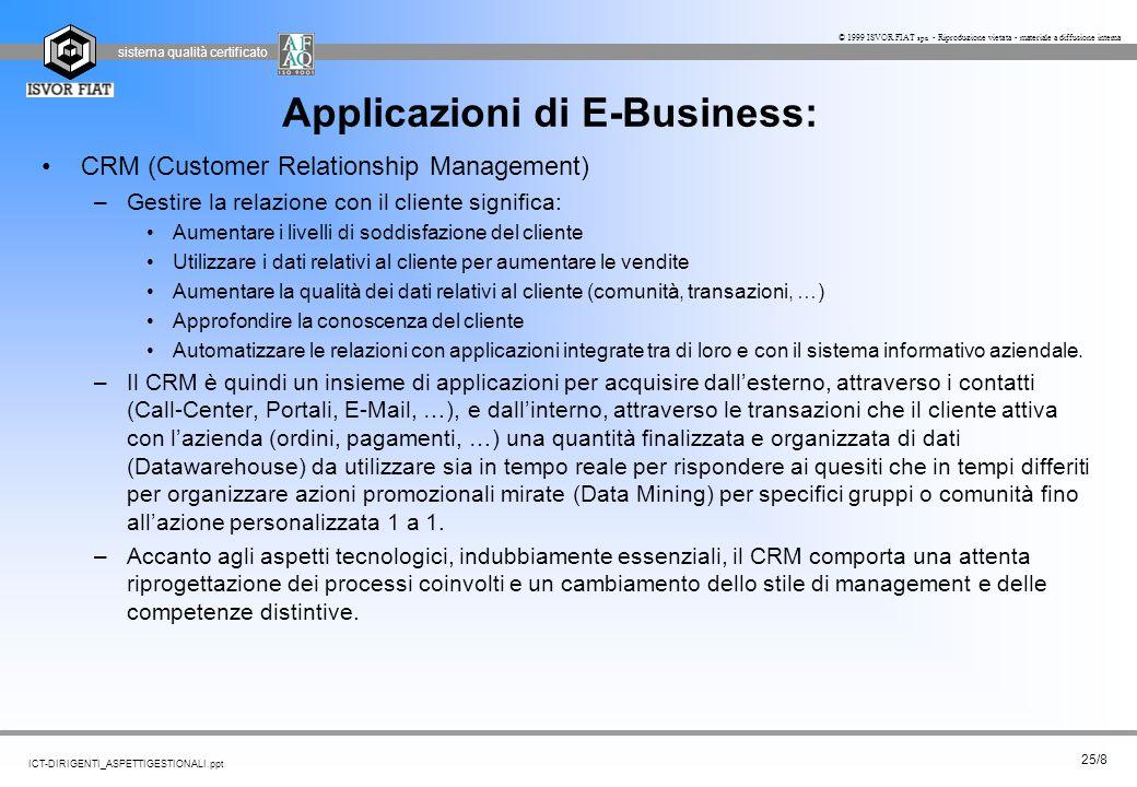 Applicazioni di E-Business: