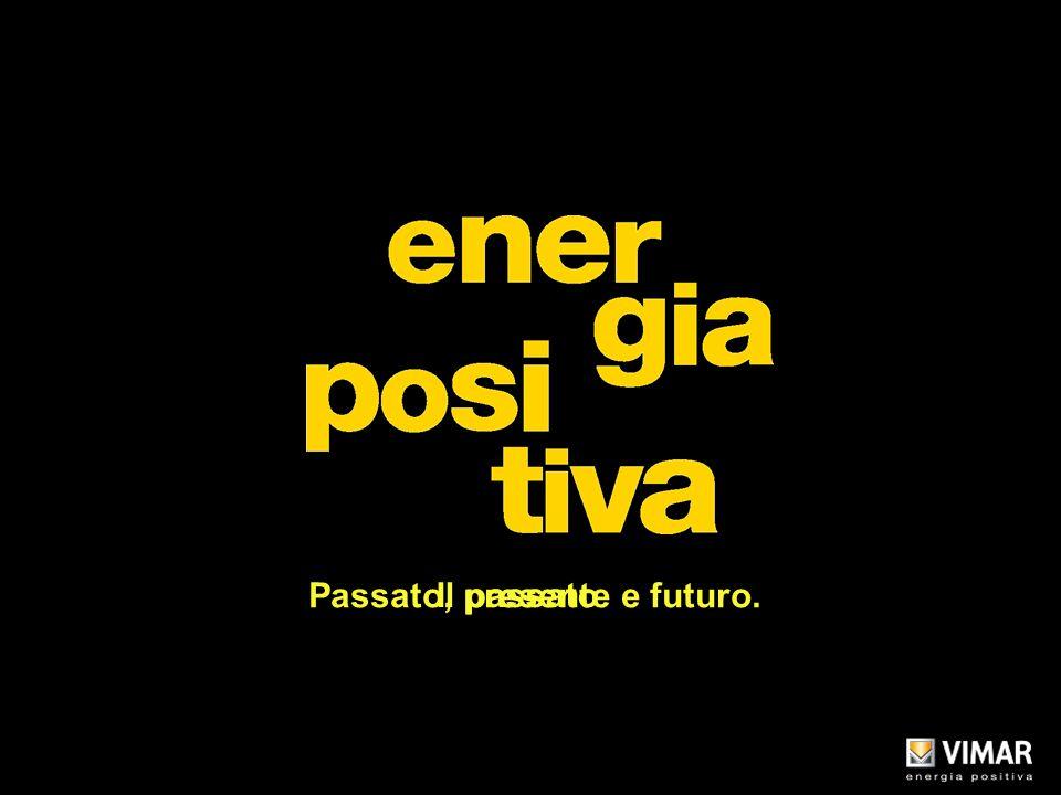 Titolo Il passato Passato, presente e futuro. Copyright Vimar