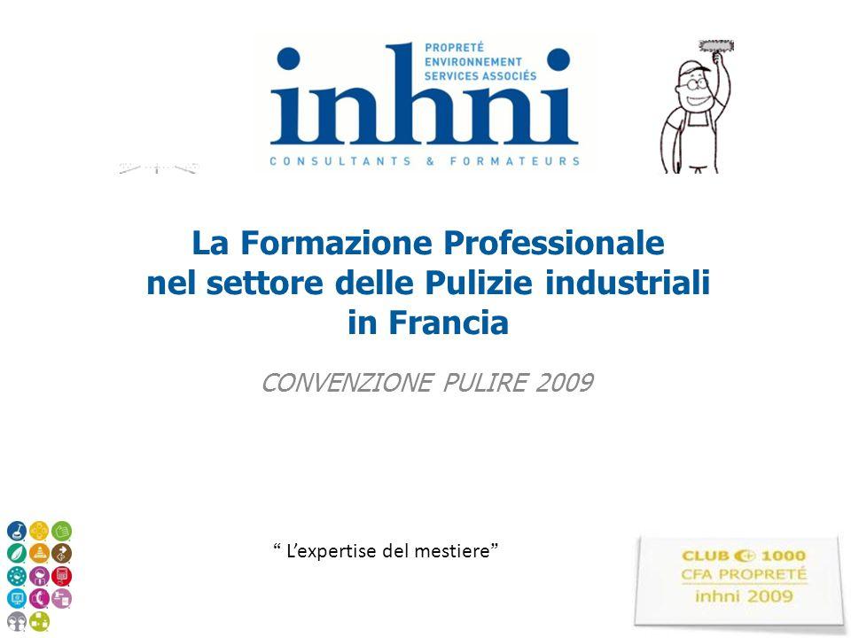 La Formazione Professionale nel settore delle Pulizie industriali in Francia
