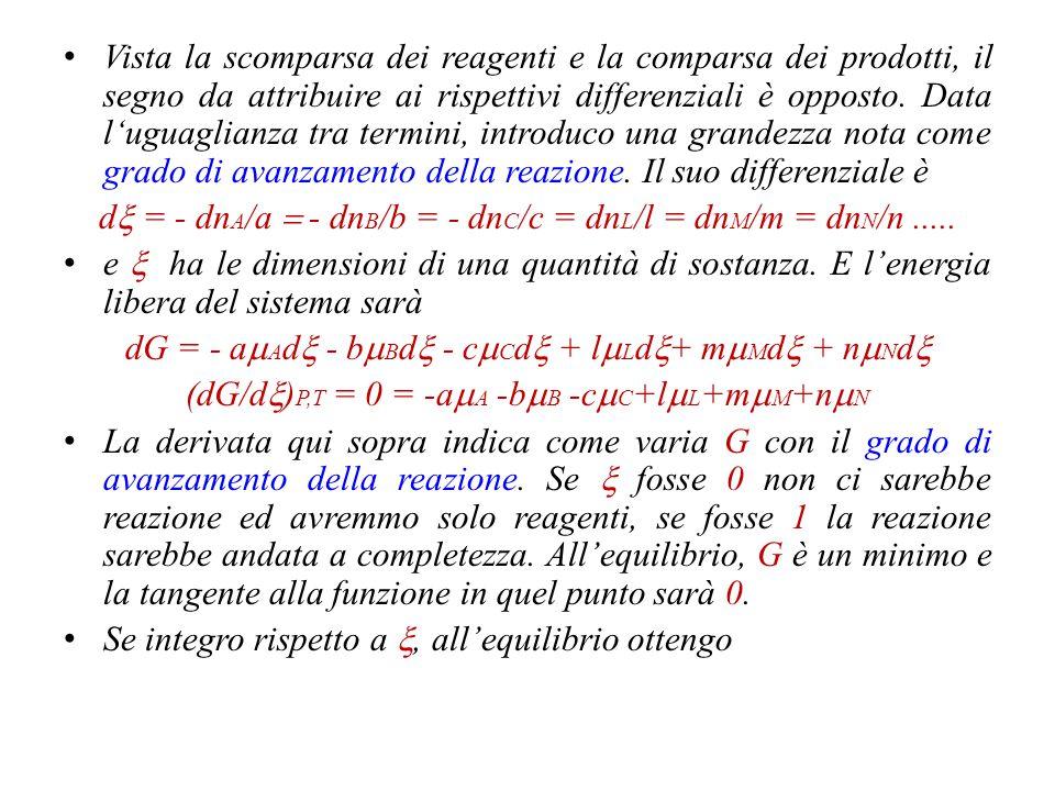 dx = - dnA/a = - dnB/b = - dnC/c = dnL/l = dnM/m = dnN/n .....