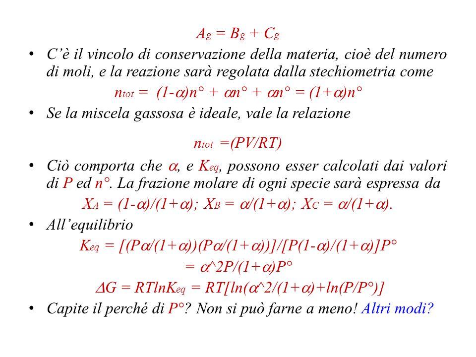 ntot = (1-a)n° + an° + an° = (1+a)n°
