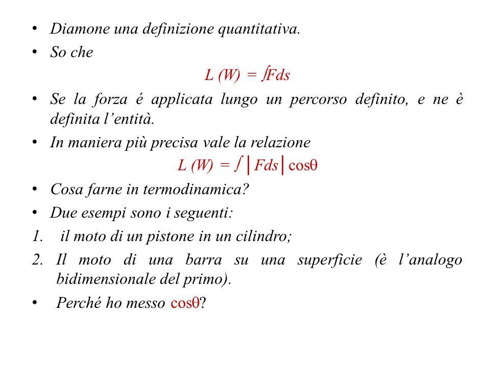 Diamone una definizione quantitativa.