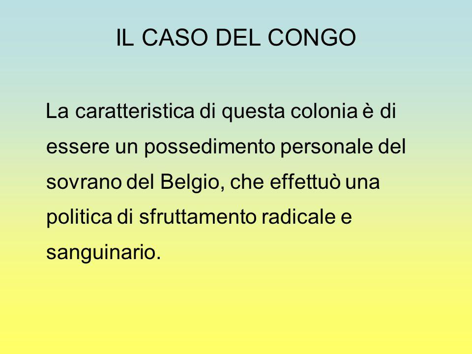 IL CASO DEL CONGO