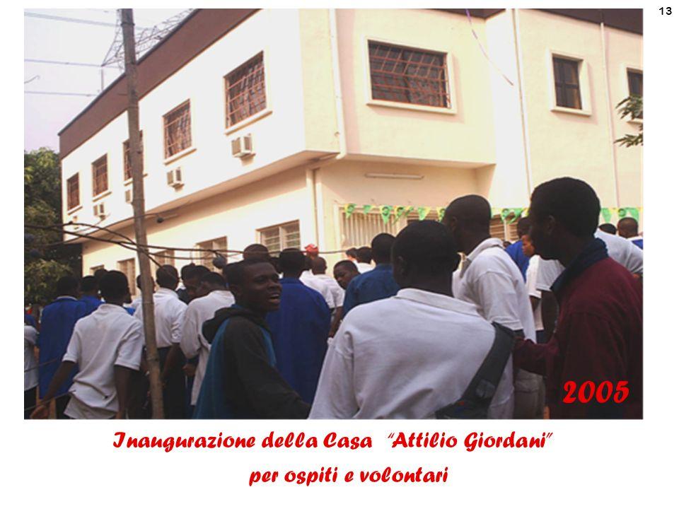 Inaugurazione della Casa Attilio Giordani per ospiti e volontari
