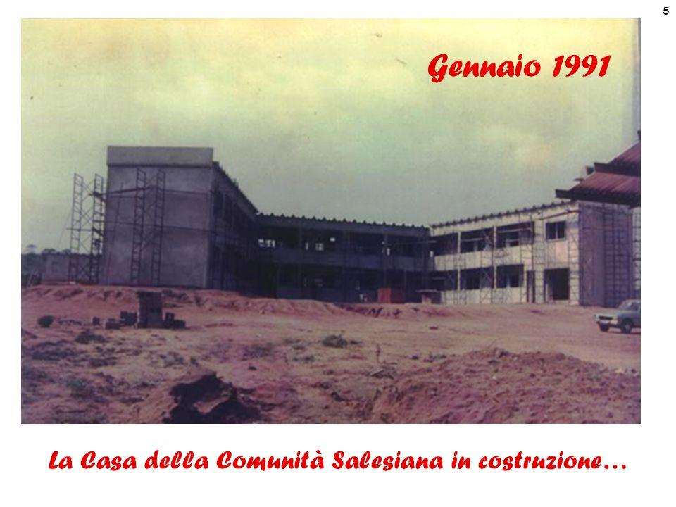 La Casa della Comunità Salesiana in costruzione…